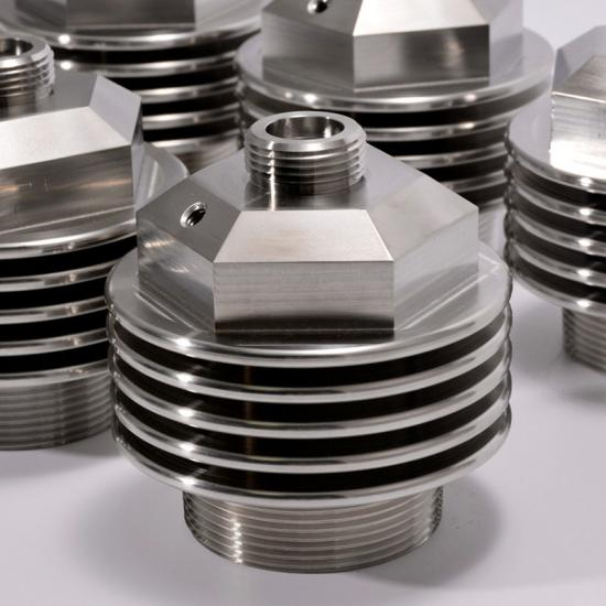 CNC turning and milling stainless steel parts